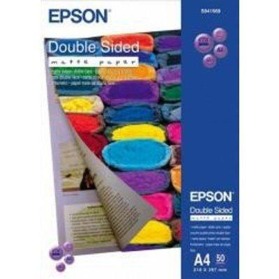 Бумага (C13S041569) EPSON Double Sided Matte Paper , А4, 50 л (C13S041569), арт: 52980 -  Бумага для принтера Epson