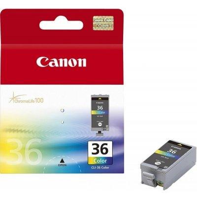 Картридж (1511B001) Canon CLI-36 цветной (1511B001)Картриджи для струйных аппаратов Canon<br>Цветной картридж, созданный по технологии FINE, c жёлтыми, синими и малиновыми чернилами.<br>