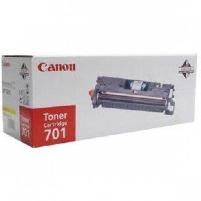 Картридж (9284A003) Canon  701 желтый (4000) (9284A003)Тонер-картриджи для лазерных аппаратов Canon<br>Картридж-тонер, лазерный, 2 000 страниц @5% (A4) для Canon LBP-5200, MF8180C<br>