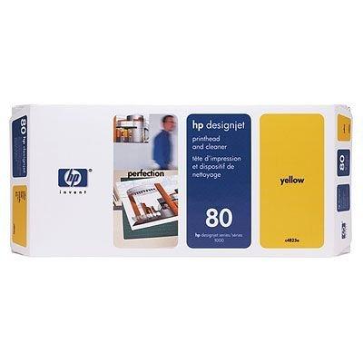 Печатающая головка HP № 80 (C4823A) желтая (C4823A)Печатающие головки HP<br>для принтеров 1000 серии, желтая<br>