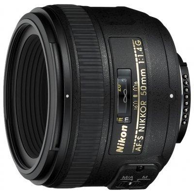 Объектив Nikkor AF-S 50mm f/1.4G (JAA014DA) nikon af s nikkor 50mm f 1 4g