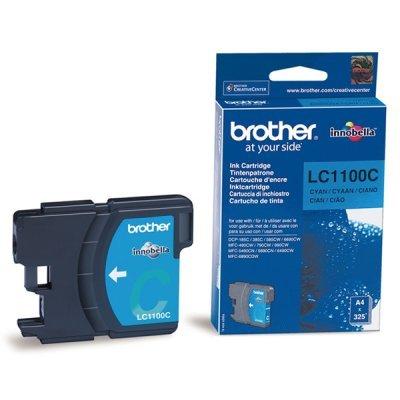 Картридж (LC1100C) Brother LC-1100C голубой (LC1100C)Картриджи для струйных аппаратов Brother<br>Струйный картридж для DCP385С/990CW/6690CW. Голубой, (до 325 страниц формата A4 в соответствии со стандартом ISO/IEC 24711)<br>