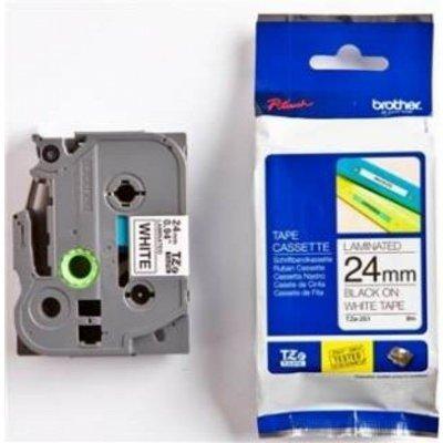 Лента для термопринтера (TZ251) Brother TZ-251 (TZ251)Термоленты для оргтехники Brother<br>24 мм х 8 м<br>