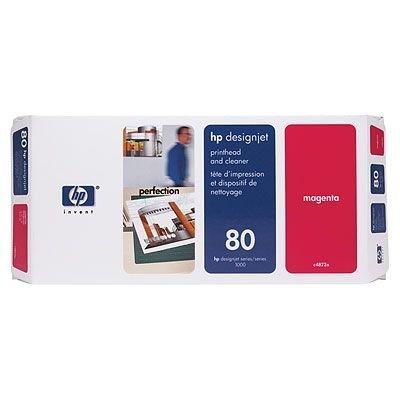 Печатающая головка HP № 80 (C4822A) пурпурная (C4822A) hp c4822a magenta