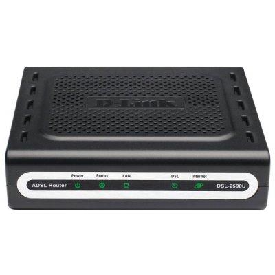 ADSL модем D-Link DSL-2500U/BRU/DB (DSL-2500U/BB) маршрутизатор netgear d7800 100pes беспроводной гигабитный dsl vdsl vdsl2 adsl adsl2 и adsl2 модем роутер ac2600 802 11ac 800 1733 мбит с 2 4