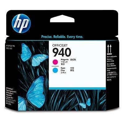Печатающая головка HP № 940 (C4901A)  пурпурная и голубая (C4901A)Печатающие головки HP<br>Пурпурная и голубая печатающая головка НР 940 Officejet<br>
