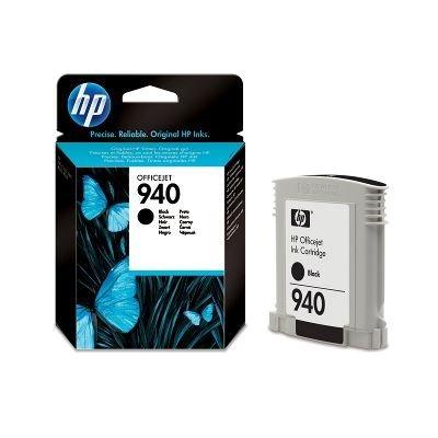 Картридж HP № 940 (C4902AE) черный (C4902AE)Картриджи для струйных аппаратов HP<br>Черный картридж HP 940 Officejet, 22мл<br>