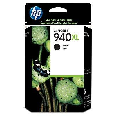Картридж HP № 940XL (C4906AE) черный (C4906AE)Картриджи для струйных аппаратов HP<br>Черный картридж HP 940XL Officejet, 49мл<br>