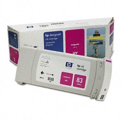 Картридж HP № 83 (C4942A) пурпурный (C4942A)Картриджи для струйных аппаратов HP<br>HP № 83 Картридж пурпурный для Designjet 5500 серии<br>