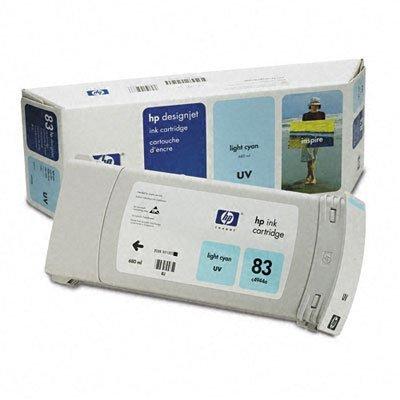 Картридж HP № 83 (C4944A) светло-голубой (C4944A)Картриджи для струйных аппаратов HP<br>HP № 83 Картридж светло-голубой для Designjet 5500 серии<br>