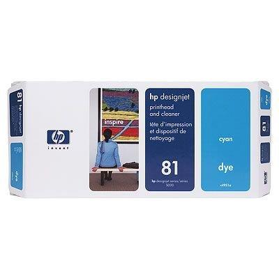 Печатающая головка HP № 81 (C4951A) голубая (C4951A)Печатающие головки HP<br>HP № 81 Печатающая головка голубая для принтеров HP DJ 5000 серии<br>
