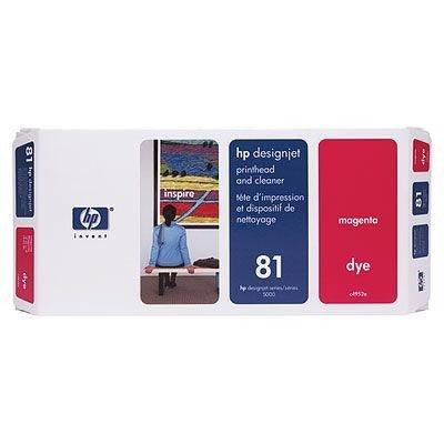 Печатающая головка HP № 81 (C4952A) пурпурная (C4952A)Печатающие головки HP<br>HP № 81 Печатающая головка пурпурная для принтеров HP DJ 5000 серии<br>