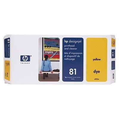 Печатающая головка HP № 81 (C4953A) желтая (C4953A)Печатающие головки HP<br>HP № 81 Печатающая головка желтая для принтеровк HP DJ 5000 серии<br>