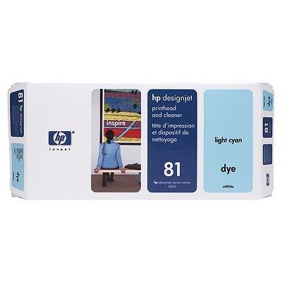 Печатающая головка HP № 81 (C4954A) светло-голубая (C4954A)Печатающие головки HP<br>HP № 81 Печатающая головка светло-голубая для принтеров HP DJ 5000 серии<br>