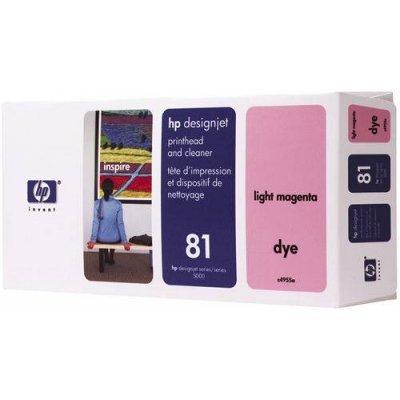 Печатающая головка HP № 81 (C4955A) светло-пурпурная (C4955A)Печатающие головки HP<br>HP № 81 Печатающая головка светло-пурпурная для принтеров HP DJ 5000 серии<br>