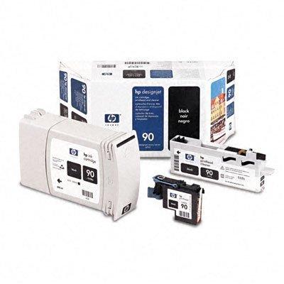Печатающая головка HP № 90 (C5054A) черная (C5054A)Печатающие головки HP<br>HP № 90 Черная печатающая головка с устройством очистки для принтеров Designjet 4000 серии.<br>
