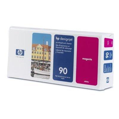 Печатающая головка HP № 90 (C5056A) пурпурная (C5056A)Печатающие головки HP<br>HP № 90 Пурпурная печатающая головка с устройством очистки для принтеров Designjet 4000 серии.<br>