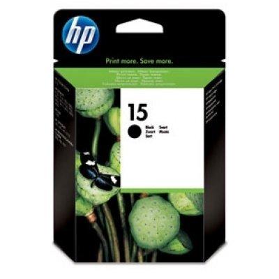 Картридж HP № 15 (C6615Dе) черный (C6615De)Картриджи для струйных аппаратов HP<br>черный для принтеров HP DJ 840<br>