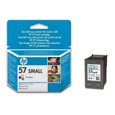 Картридж HP № 57 (C6657GE) трехцветный (C6657GE)Картриджи для струйных аппаратов HP<br>Трехцветный (малой емкости) для принтеров DJ 5550, 4.5 мл.<br>