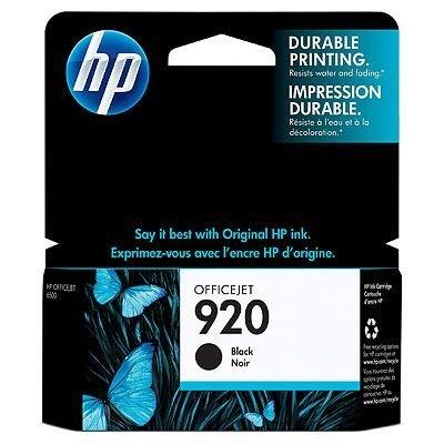 Картридж HP № 920 (CD971AE) черный (CD971AE)Картриджи для струйных аппаратов HP<br>Черный картридж HP 920 Officejet, 10мл<br>