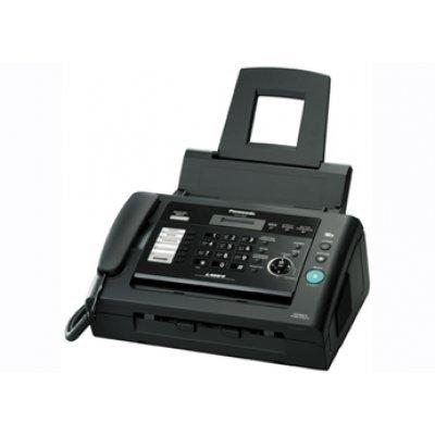 Факс Panasonic KX-FL423 черный (KX-FL423RU-B) телефон panasonic kx dt546rub черный