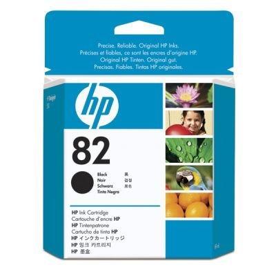 Картридж HP № 82 (CH565A) черный (CH565A)Картриджи для струйных аппаратов HP<br>69 мл<br>