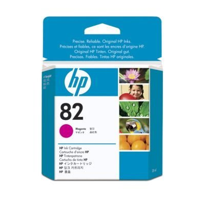 Картридж HP № 82 (CH567A) пурпурный (CH567A)Картриджи для струйных аппаратов HP<br>28мл<br>