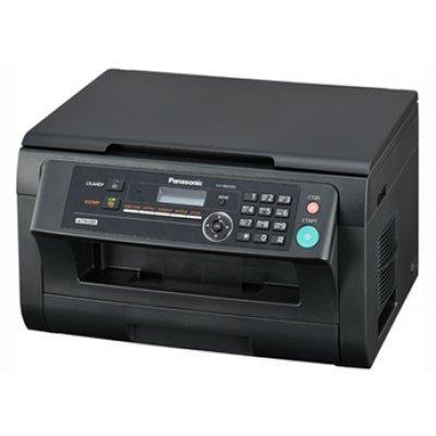 Лазерное МФУ Panasonic KX-MB2000RU-B  (сетевой) (KX-MB2000RU-B)Монохромные лазерные МФУ Panasonic<br>МФУ (Принтер, планшетный копир и цветной сканер, 24 стр/мин., 32Мб, USB 2.0, Ethernet), чёрный<br>