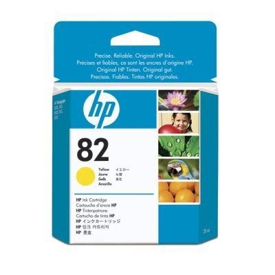 где купить Картридж HP № 82 (CH568A) желтый (CH568A) дешево