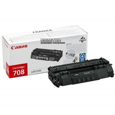 Картридж (0266B002) Canon CLI-708 (0266B002)Тонер-картриджи для лазерных аппаратов Canon<br>Картридж-тонер, лазерный, 2 500 страниц @5% (A4) для Canon i-SENSYS LBP3360 and LaserShot LBP-3300<br>