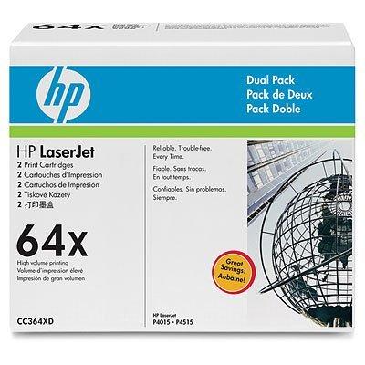 Картридж HP (CC364XD) для HP LaserJet P4015/P4515 (CC364XD)Тонер-картриджи для лазерных аппаратов HP<br>Для тех, кто печатает много, HP предлагает экономичные сдвоенные упаковки картриджей для принтеров HP Laser Jet. Это выгодное предложение обеспечивает надежность и профессиональное качество печати, как и при использовании отдельных картриджей HP, но по более низкой цене. Для серий: HP Color LaserJet ...<br>