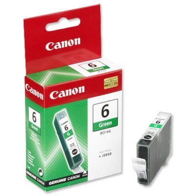 Картридж (9473A002) Canon BCI-6G зеленый (9473A002)Картриджи для струйных аппаратов Canon<br>для S-800/BJC-8200<br>