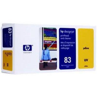 Печатающая головка HP № 83 (C4963A) Yellow (C4963A)Печатающие головки HP<br>(Описание)<br>