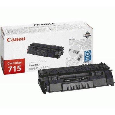 Картридж (1976B002) Canon 715H для LBP3310 (1976B002)Тонер-картриджи для лазерных аппаратов Canon<br>Картридж (1976B002) Canon 715H для LBP3310, ресурс 7000 стр.<br>