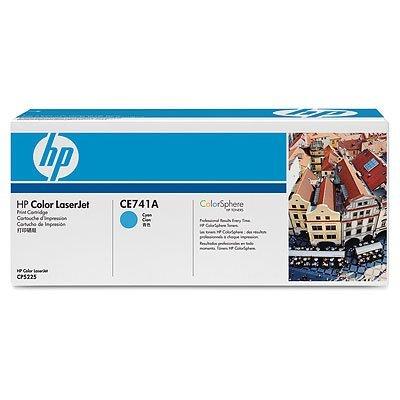 Картридж HP (CE741A) для Color LaserJet CP5220 голубой (CE741A)Тонер-картриджи для лазерных аппаратов HP<br>7300 копий<br>