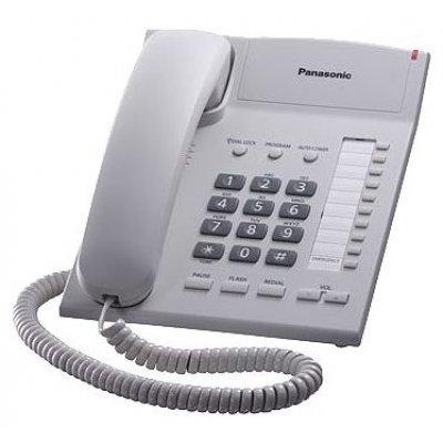 Проводной телефон Panasonic KX-TS2382 белый (KX-TS2382RUW) телефон проводной panasonic kx ts2350ru