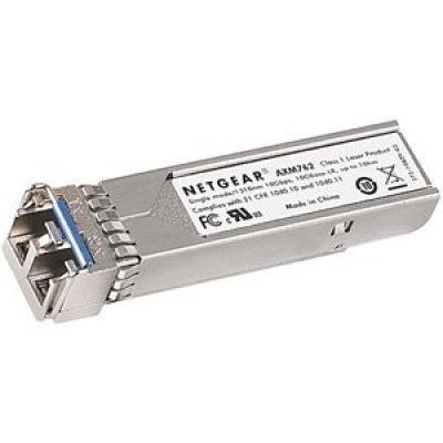 Оптический модуль NETGEAR AXM761-10000S (AXM761-10000S)Трансиверы Netgear<br>Оптический модуль 10GBase-SR SFP+ (до 300м), многомодовый кабель, разъем LC<br>