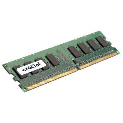 Модуль памяти 1Gb Crucial-Micron DDR2 DIMM (PC-6400) 800МГц (CT12864AA800)Модули оперативной памяти ПК Crucial<br>1Gb DDR2 800 PC6400 DIMM<br>