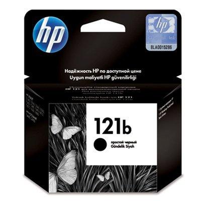Картридж HP № 121b Black (CC636HE)Картриджи для струйных аппаратов HP<br>Черный картридж на 200 страниц. Для HP Deskjet D1663, D2563, D2663 D5563, F2423, F2483, F2493, F4213, F4275, F4283, F4583; HP Photosmart C4683, C4783<br>