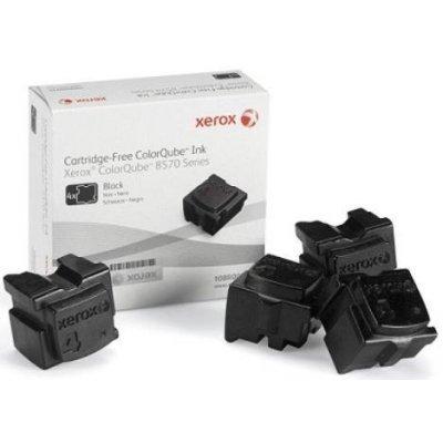 Набор твердочернильных брикетов CQ 9201/9202/9203 Черный 4шт. Ink sticks (108R00840)Твердочернильные брикет Xerox<br>Для серий: Xerox ColorQube 9201/9202/9203<br>