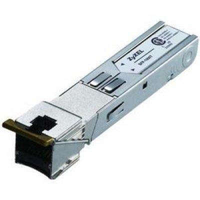 Трансивер ZyXEL SFP-1000T (SFP-1000T)Трансиверы ZYXEL<br>SFP-с портом Gigabit Ethernet<br>