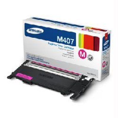 Тонер-Картридж пурпурный Samsung CLT-M407S для CLP-325W/CLX-3185 (CLT-M407S/SEE) toner powder and chip for samsung 506 clt 506 for clp 680 clx6260fw clx 6260nd clx 6260nr laser printer hot sale