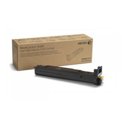 Тонер-Картридж WC 6400 голубой повышенной емкости (14 000 страниц) (106R01317)Тонер-картриджи для лазерных аппаратов Xerox<br><br>