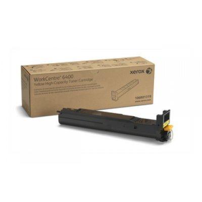 Тонер-Картридж WC 6400 желтый повышенной емкости (14 000 страниц) (106R01319)Тонер-картриджи для лазерных аппаратов Xerox<br>14000 стр<br>