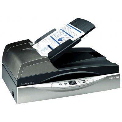 Сканер Xerox DocuMate 3640 планшетный DADF (003R92152)Сканеры Xerox<br>Планшетный сканер формата A4, скорость до 40 стр./мин. (одностороннее)/80 изобр./мин. (двустороннее), автоподатчик на 80 листов, ежедневная нагрузка до 5 000 листов, разрешение 600 dpi,<br>
