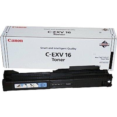 Картридж Canon C-EXV16 B черный (1069B002)Тонер-картриджи для лазерных аппаратов Canon<br>Картридж с чёрным тонером для CLC4040,<br>