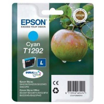 Картридж (C13T12924010) Epson синий (C13T12924010)Картриджи для струйных аппаратов Epson<br>для Stylus SX420W/SX425W/SX525WD/B42WD/BX320FW/BX625WFD/BX305F/7015<br>