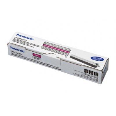 Тонер Panasonic KX-FATM507A7 пурпурный (KX-FATM507A7) тонер туба panasonic dp 1515p в алматы
