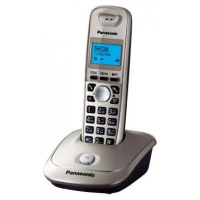 Радиотелефон Panasonic KX-TG2511RUN (KX-TG2511RUN) радиотелефон dect panasonic kx tg8551rub черный аон