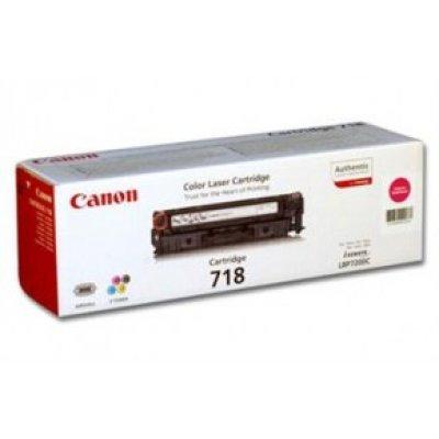 Картридж Canon 718 малиновый (2660B002)Тонер-картриджи для лазерных аппаратов Canon<br>Для Canon 8330cdn и 8350cdn. Ресурс 2900<br>